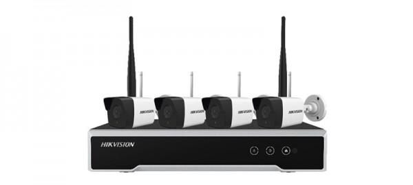 Pass lại Bộ Kit Hikvision Wifi NK42W0H (4 Camera + 1 Đầu ghi hình) giá rẻ hôm nay