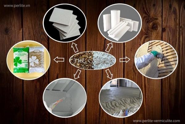 Perlite - Vermiculite và các ứng dụng
