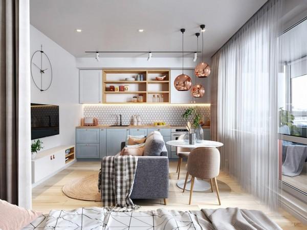 Phân bố hợp lý cho không gian căn hộ nhỏ