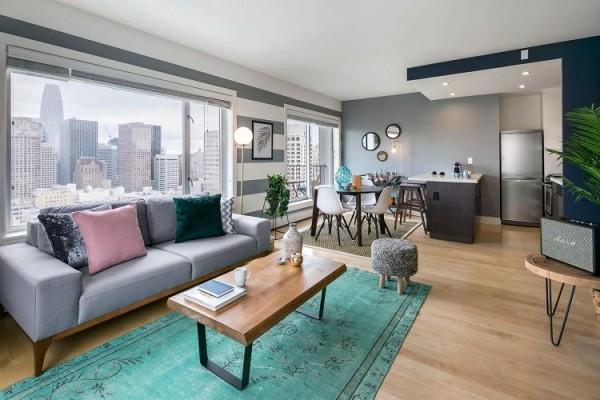 Phân chia cơ cấu các phòng hợp lý cho một căn hộ