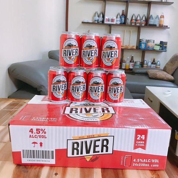Phân phối bia River Đỏ Tết
