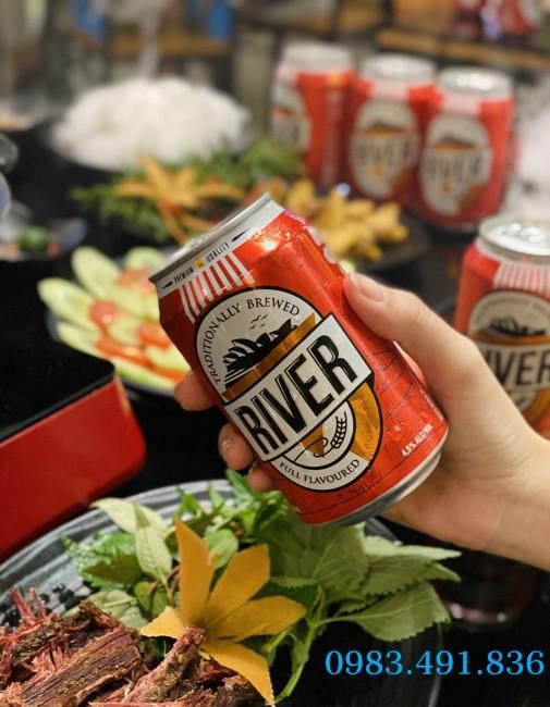 Phân phối bia River đỏ xuất khẩu bán Tết – Hà Nội