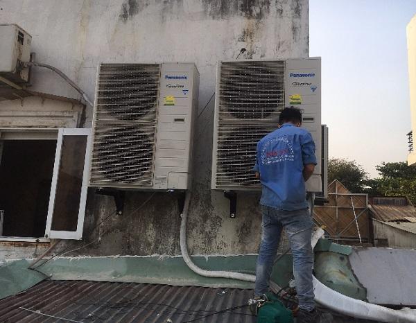 Phân phối tháo lắp máy lạnh giá rẻ cho công trình