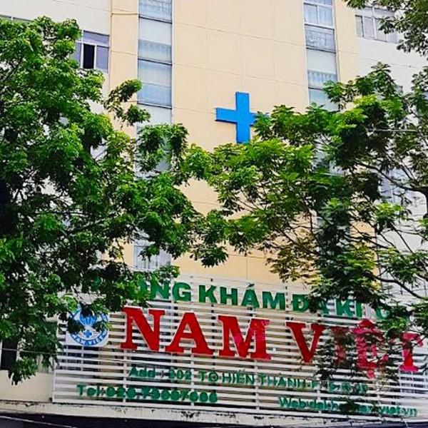 Phòng khám Đa Khoa Nam Việt tuân thủ quy định 5K phòng chống dịch