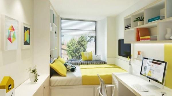 Phòng ngủ là nơi bạn nghỉ ngơi sau mỗi ngày đi làm hay học tập vất vã