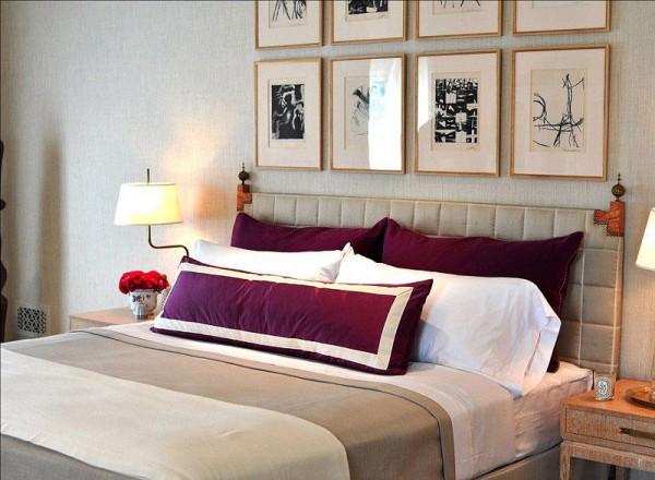Phòng ngủ mang phong cách sang quý, thanh lịch