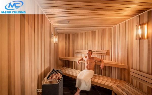 Phòng xông hơi khô Sauna - Công nghệ Phần Lan