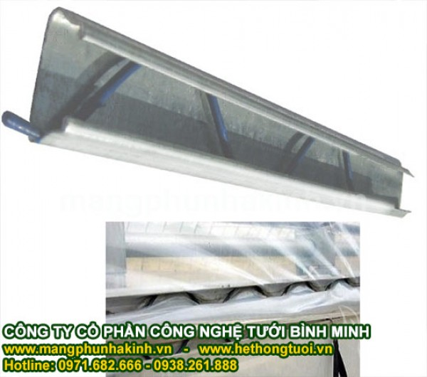 Phụ kiện nhà kính, zíc zắc loxo cung cấp thanh nẹp và zíc zắc cho nhà lưới, nẹp cài màng nhà kính
