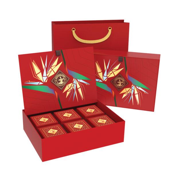 Phương pháp gói hộp quà Tết đẹp tặng người thân đơn giản mà ý nghĩa