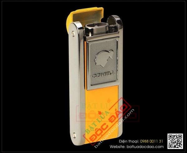 Quà biếu sếp nam cao cấp: bật lửa xì gà Cohiba 2 tia H080