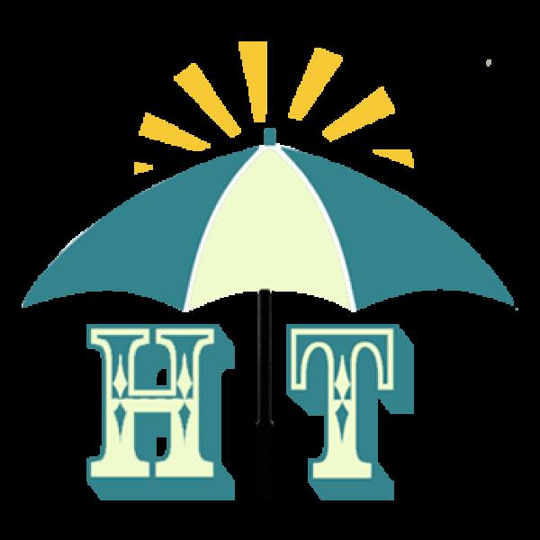 Quà tặng ô dù cầm tay gấp 2 đẹp mắt