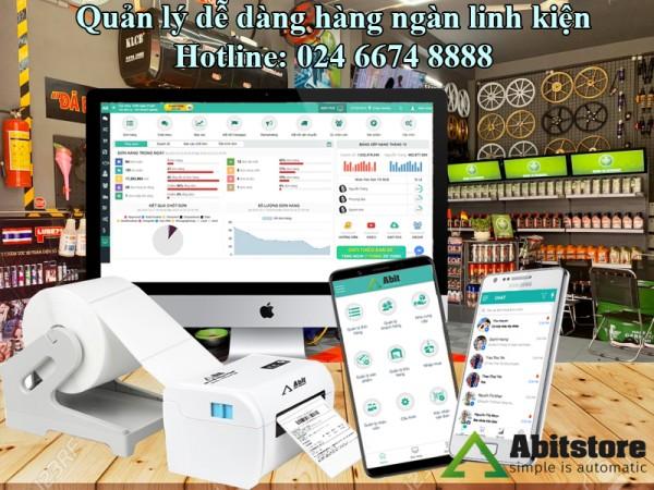 Quản lý hàng ngàn linh kiện cực dễ dàng bằng phần mềm ABIT