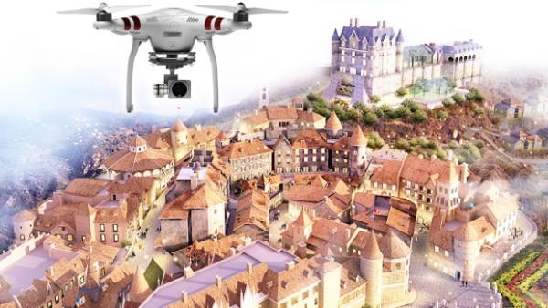 Quay phim dự án bằng flycam và hiệu quả nó mang lại