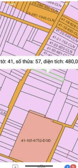 Ra nhanh lô đất giá rẻ 480m2 Xã Vĩnh Thanh Nhơn Trạch