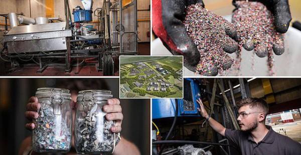 Rác nhựa không thể tái chế sẽ được chuyển hết thành điện siêu sạch