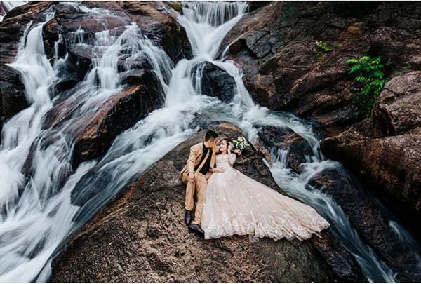 Review gói chụp ảnh cưới ngoại cảnh Hồ Cốc Vũng Tàu giá rẻ