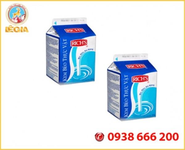 Rich lùn sữa béo thơm ngon dùng pha chế trà sữa