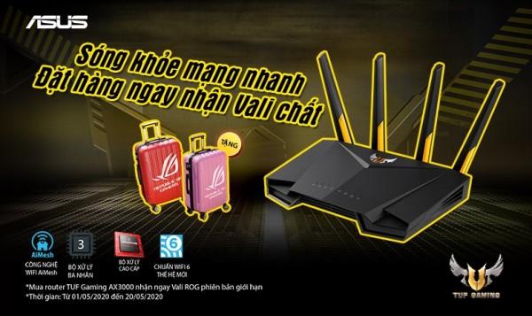 Router Wifi ASUS và khuyến mãi cực khủng trong tháng 5 tại Binh Minh Digital