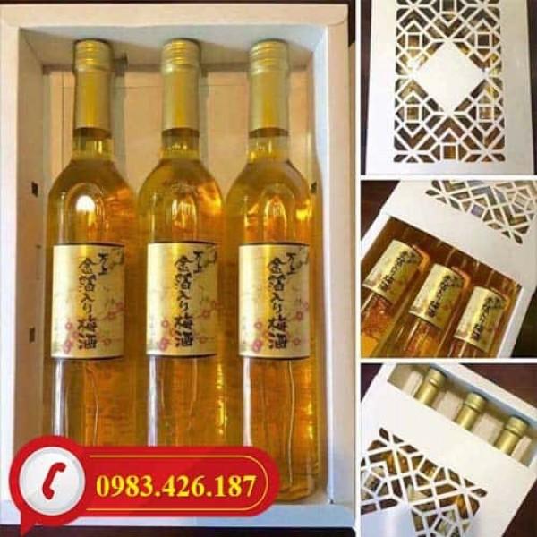 Rượu Mơ Vảy Vàng Kikkoman 500ml Nhật Bản