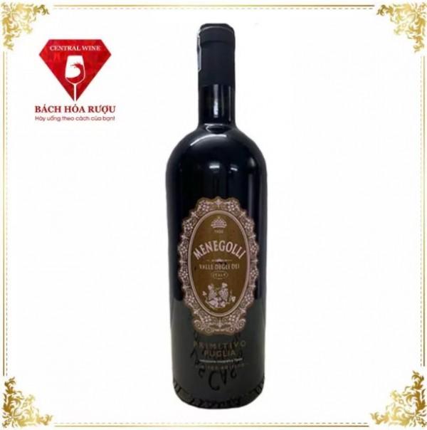 Rượu Vang Ý Menegolli Limited Edition Primitivo