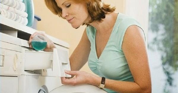 Sai lầm thường thấy của hội chị em khi giặt giũ