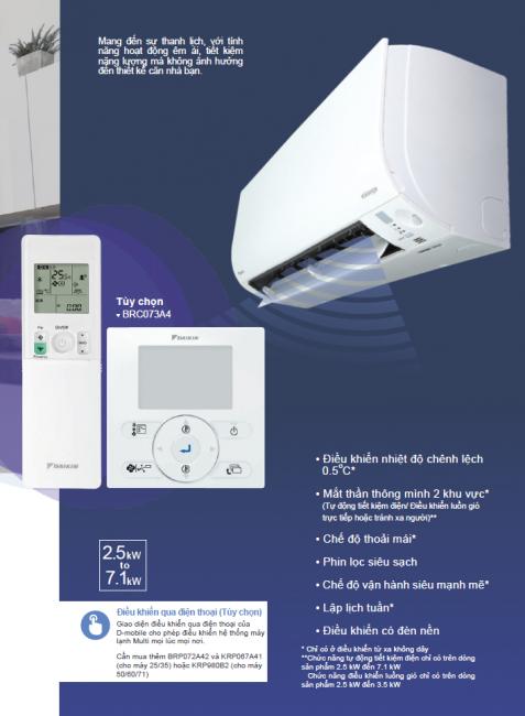 Sản phẩm máy lạnh Multi inverter mang lại những hỗ trợ tốt khi sử dụng.