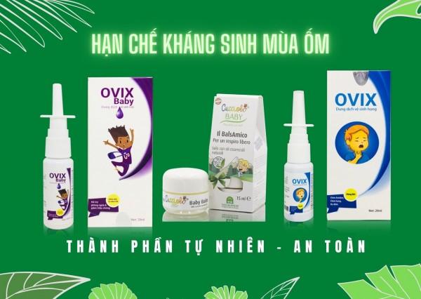 sản phẩm tự nhiên tăng đề kháng cho trẻ giạ chế kháng sinh mùa ốm