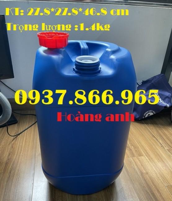 Sản xuất can hóa chất số lượng lớn, can nhựa dùng trong các ngành công nghiệp, can 25l giá rẻ