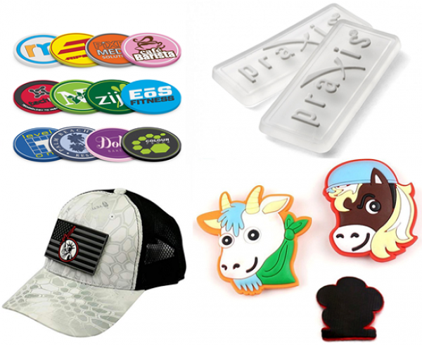 Sản xuất logo nhựa dẻo, mác cao su, logo PVC, logo cao su, logo silicone, nhãn TPR in nổi,