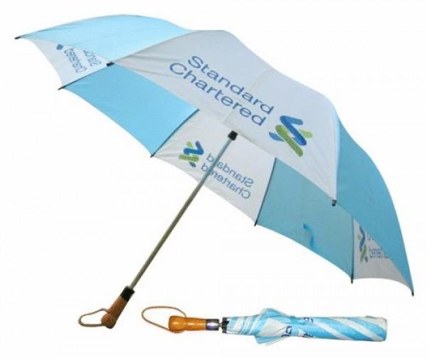 Sản xuất ô dù cầm tay gấp 2, dù gấp 2 theo yêu cầu