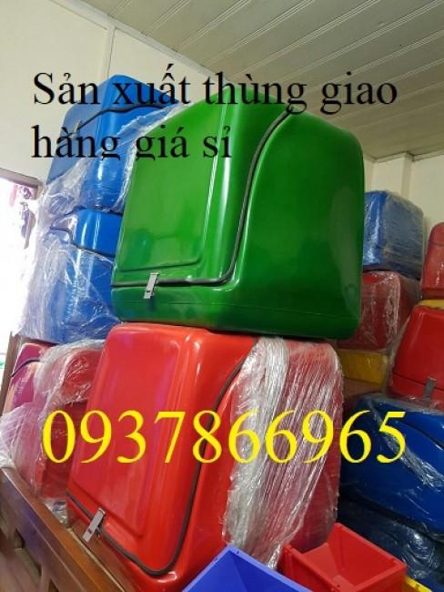 Sản xuất thùng chở hàng tại hà nam, thùng chở hàng nhựa composite tại hưng yên