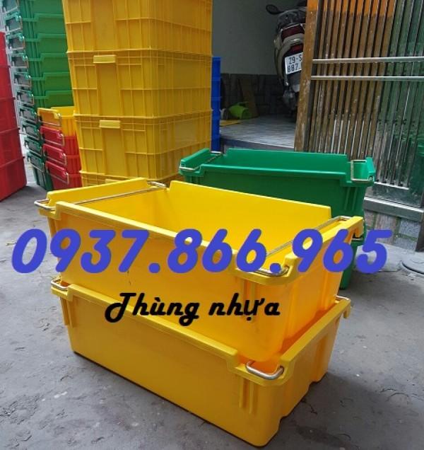 Sản xuất thùng nhựa A2 màu sắc theo yêu cầu,thùng nhựa đặc có hộp  nhựa đặc giá rẻ