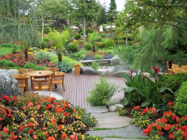 Sáng tạo cảnh quan sân vườn đầy thu hút