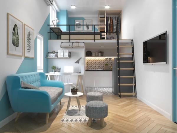 Sắp xếp nội thất phù hợp cho nhà trọ có diện tích khiêm tốn