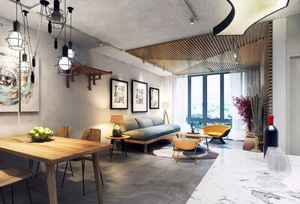 Say đắm vẻ đẹp của căn hộ mang phong cách vintage lãng mạn