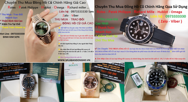 Shop - địa điểm thu mua đồng hồ cũ rolex - patek philippe - hublot - omega ...