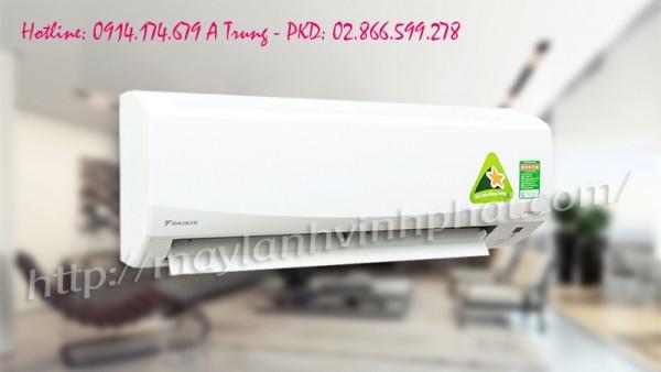 Siêu phẩm Máy lạnh treo tường Daikin model FTKS dòng sản phẩm cao cấp cực bền