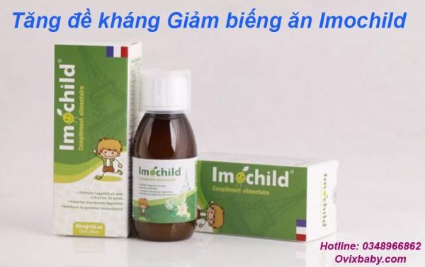 [Siro Imochild] nhập khẩu từ Pháp Bổ sung các vitamin giúp trẻ ăn ngon miệng