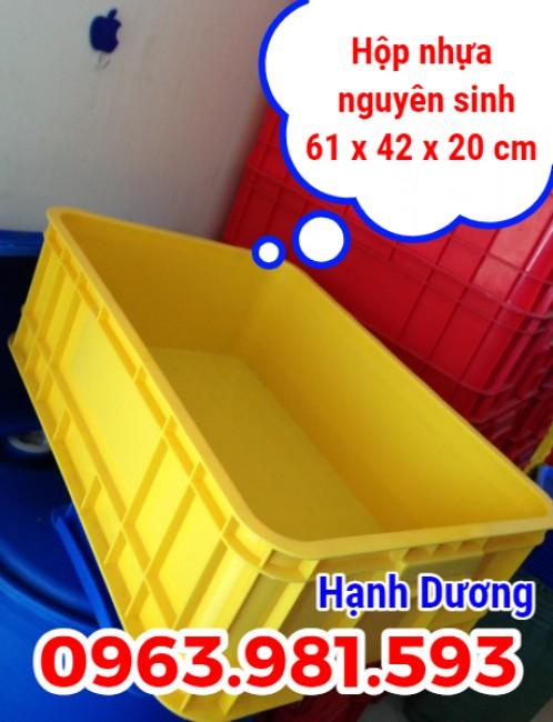 Sóng nhựa B1, thùng nhựa đặc, hộp nhựa có nắp