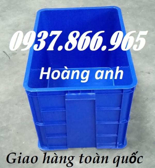 Sóng nhựa bít, thùng nhựa đặc HS 026, thùng nhựa dày 39cm, thùng nhựa đặc