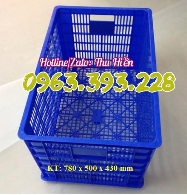 Sọt nhựa hở có 5 bánh xe, chuyên cung cấp sọt nhựa công nghiệp, sọt nhựa bánh xe tại Hà Nội