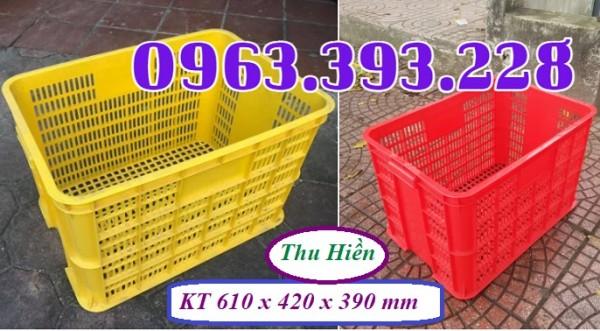 Sọt nhựa rỗng cao 39, sọt nhựa công nghiệp giá rẻ, sóng nhựa HS 005, sọt nhựa cao cấp đựng hàng