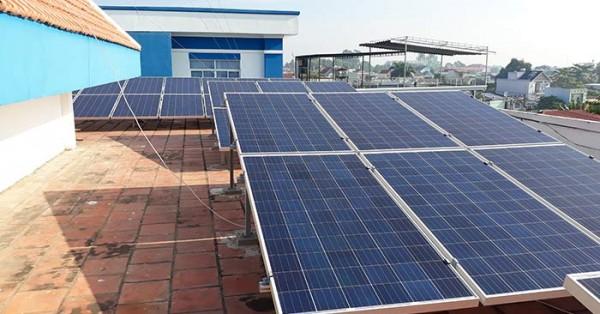 Sử dụng hệ thống điện mặt trời áp mái đã có những phản hồi tích cực