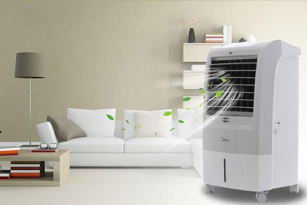 Sử dụng hiệu quả quạt điều hòa trong mùa hè oi bức