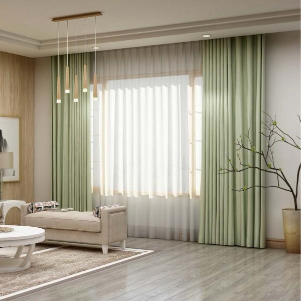 Sử dụng rèm như điểm nhấn tạo phong cách cho ngôi nhà