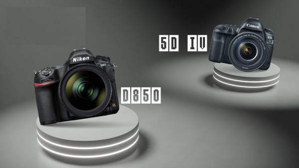 Sự khác biệt giữa Canon EOS 5D Mark IV vs Nikon D850