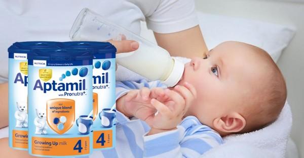 Sữa Aptamil Anh số 2 - Nguồn dinh dưỡng cho bé