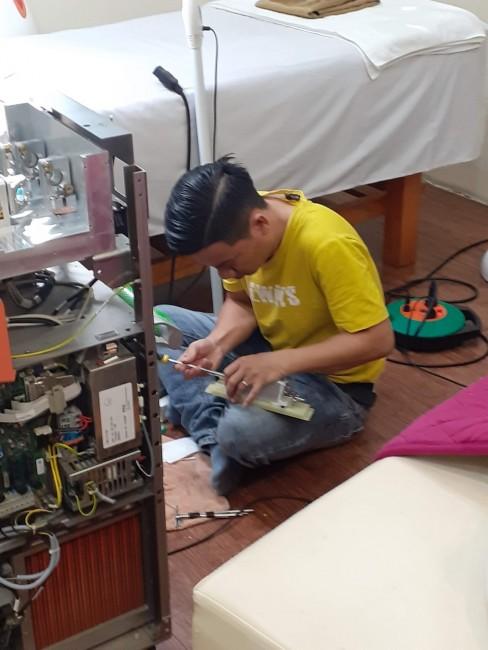 sửa máy thiết bị thẩm mỹ spa