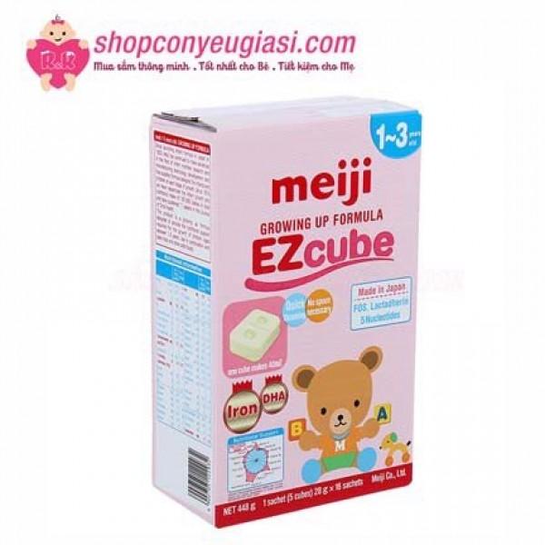 Sữa Meiji có tăng cân, tăng chiều cao tốt không?