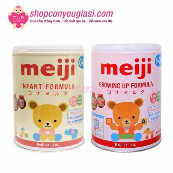 Sữa meiji hãng nhất cần thiết cho sự phát triển của trẻ nhỏ